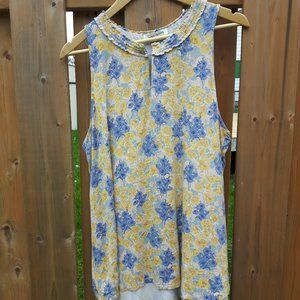 Rose + Olive Tank Top Beautiful Dainty Lilac XL